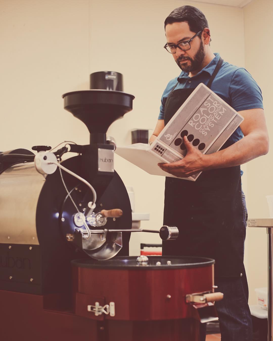 Kahve Kavurma Makinesi Ve Usta